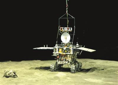 嫦娥三号外星人照片 嫦娥三号卫星简笔画